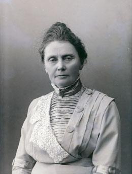 Anna Rogstad. Stortingets bildearkiv. Foto: Szacinski