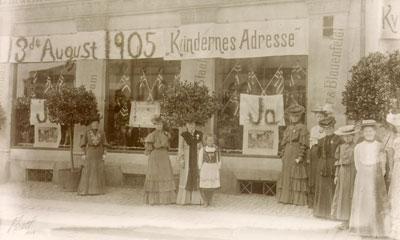 stemmerett kvinner Haderslev