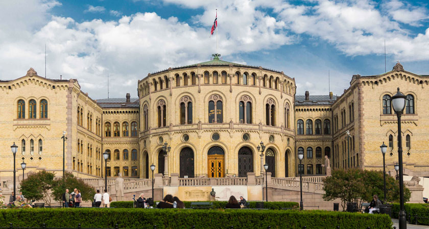 The Storting is the Norwegian Parliament. Photo: Stortinget